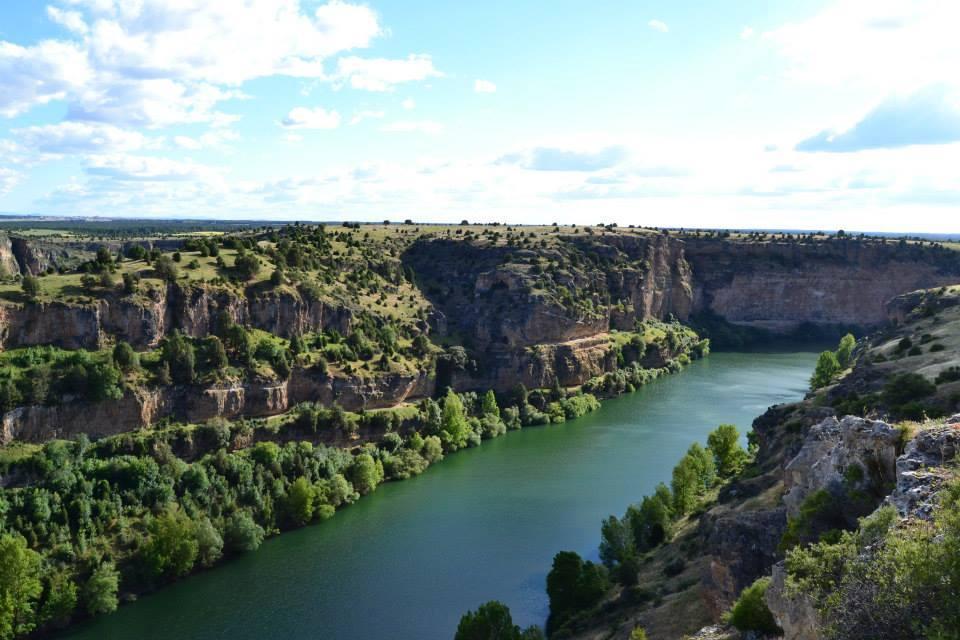 Vista de las Hoces del Río Duratón