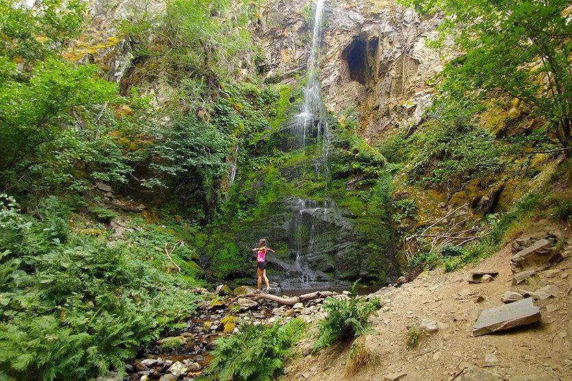 En la Cascada del Gualtón