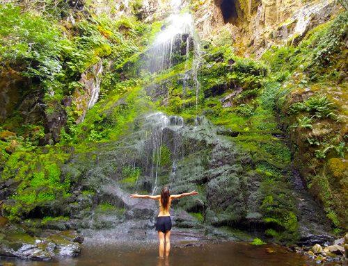 La cascada del Gualtón