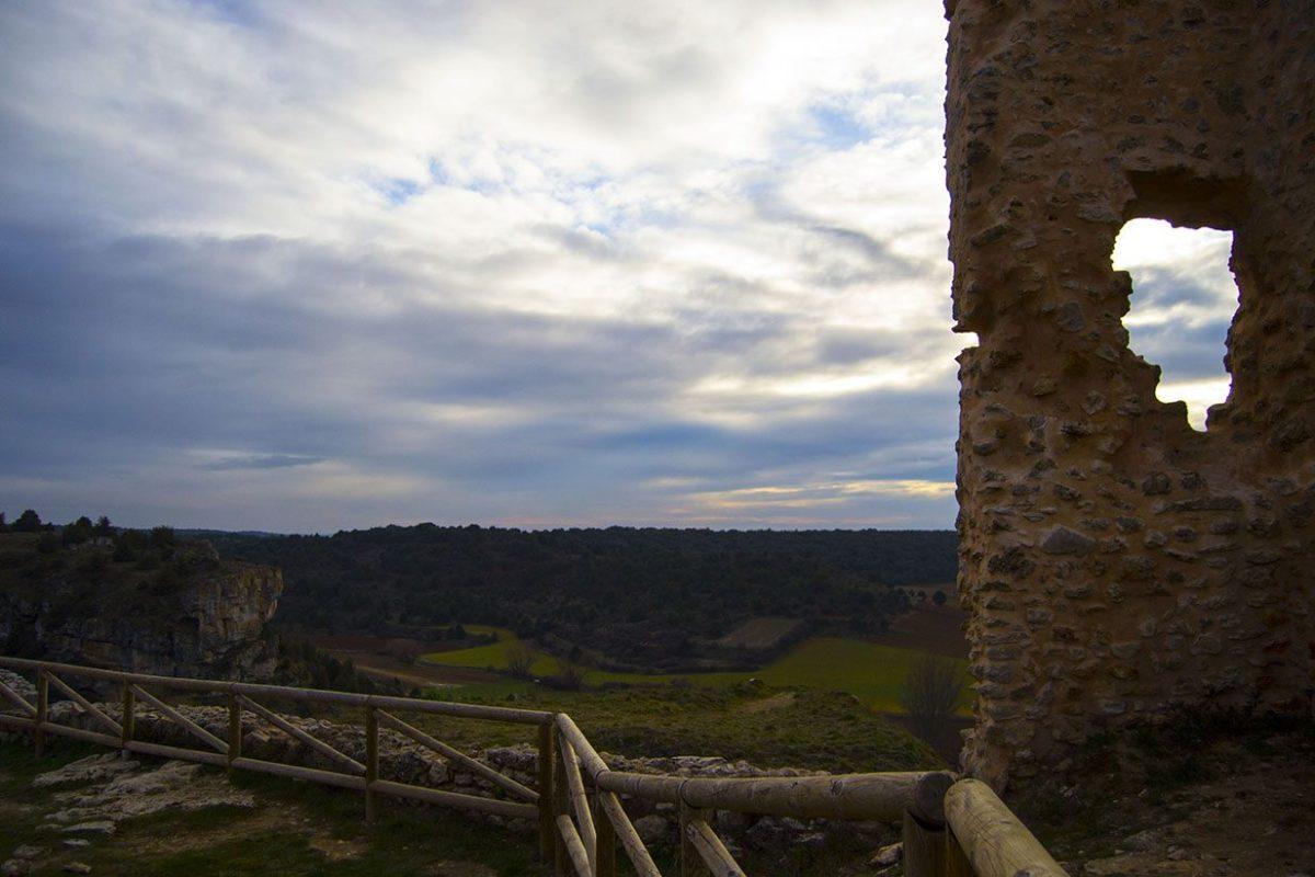 Vistas desde el castillo medieval de Calatañazor