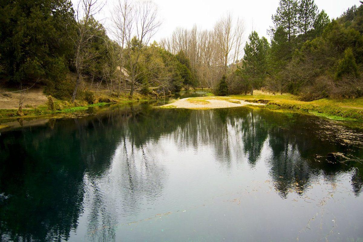 Vistas a La Fontana de Muriel desde la orilla