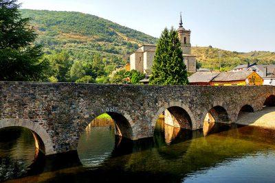 Puente medieval de Molinaseca