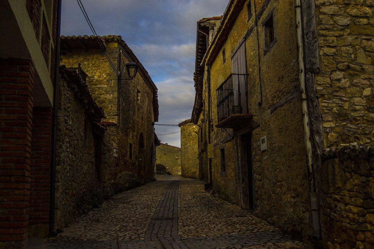 Calles del pueblo medieval de Calatañazor