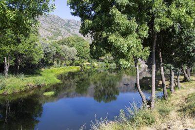 Paisaje Natural desde la senda 3 del Cañón del Tera