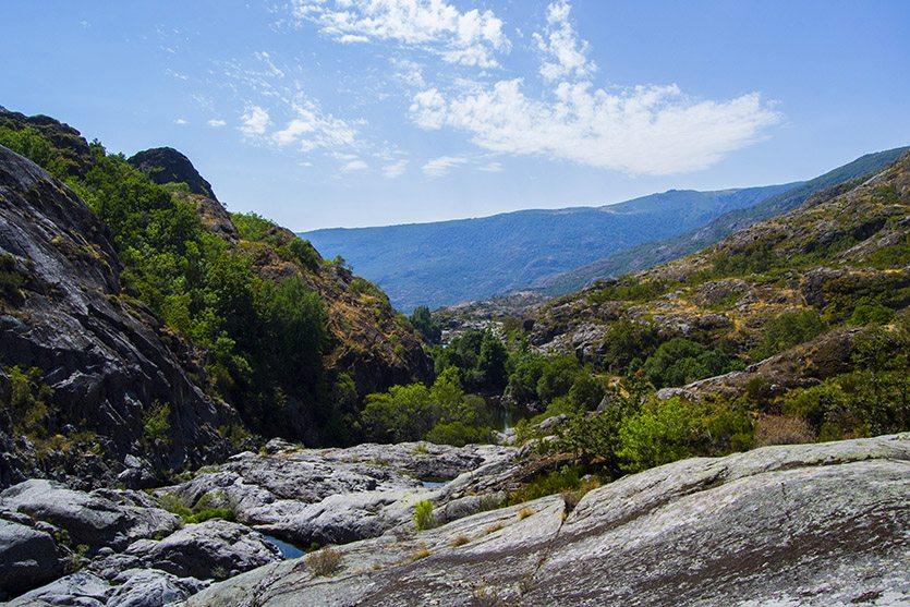Vistas desde el Cañón del Tera