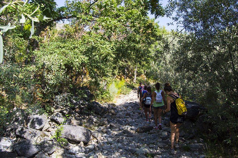 Inicio de la ruta del Cañón del Tera