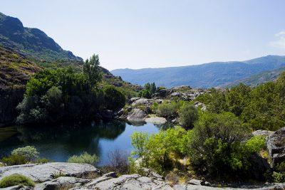 Pequeña poza desde la Senda 3 del Cañón del Tera