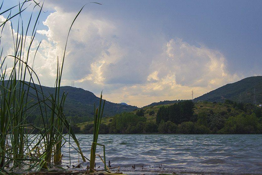 Lago de Carucedo en León
