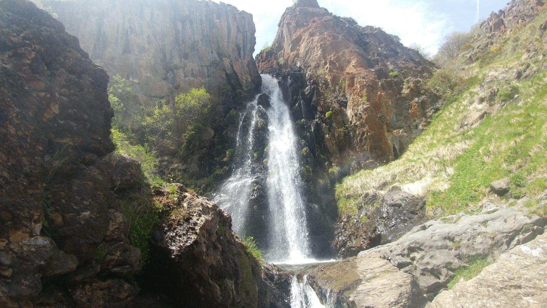 Cascada de Mazobre, Palencia