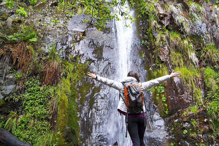 Cascada del Gualta, en la Ruta de la Fuentes Medicinales