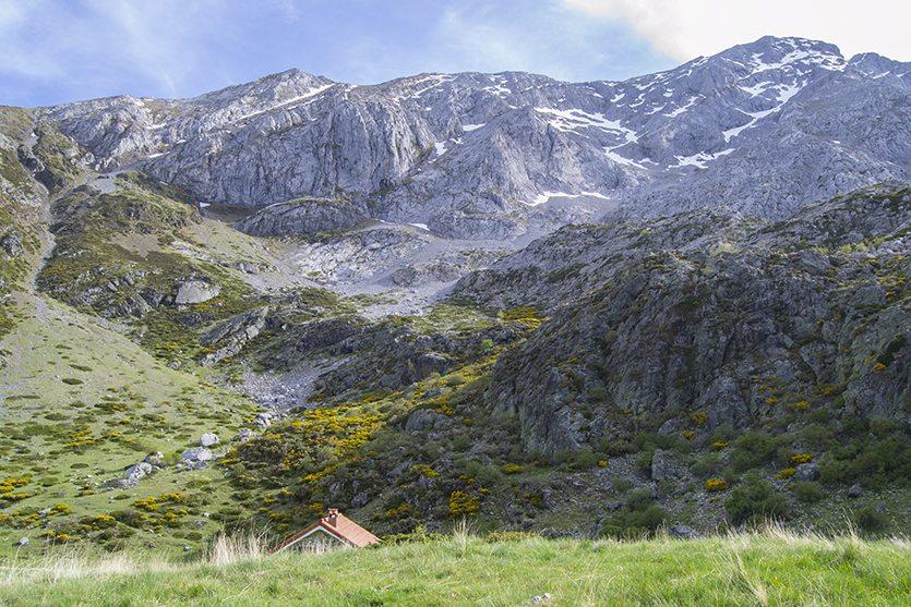 Vistas al pico del Espigüete
