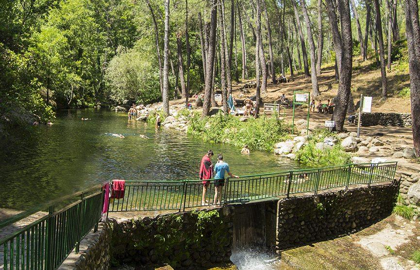 Piscina natural del Río Pelayo