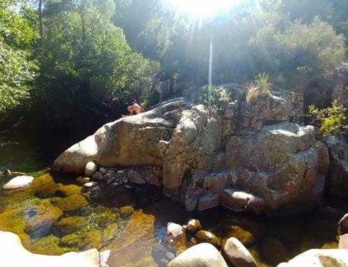Excursión a la piscina fluvial del río Pelayo, Charco Verde y Los Cachizos