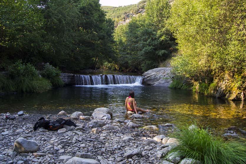 Río Boeza en Igüeña