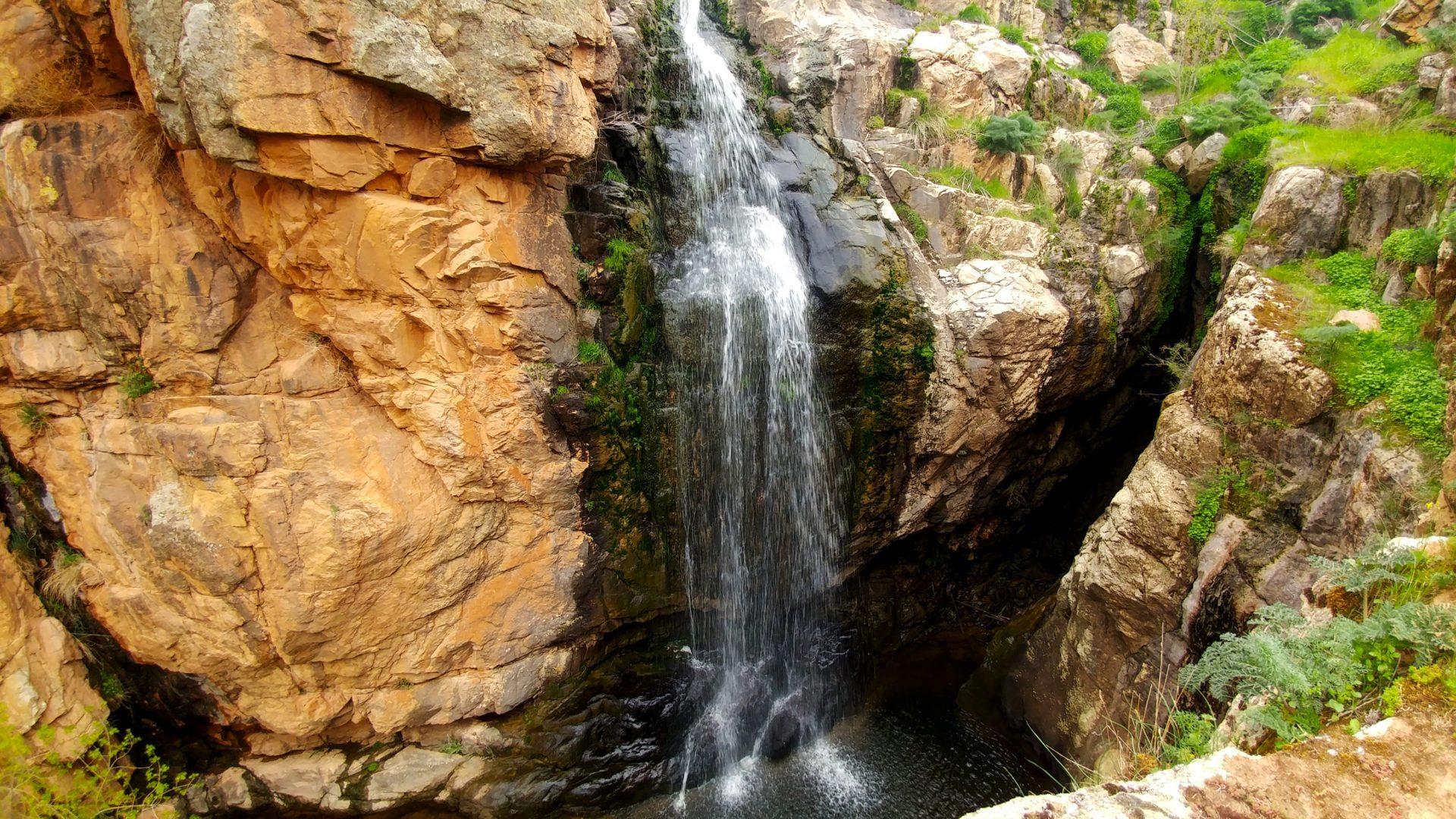 Cascada de Las Pilas en Zamora