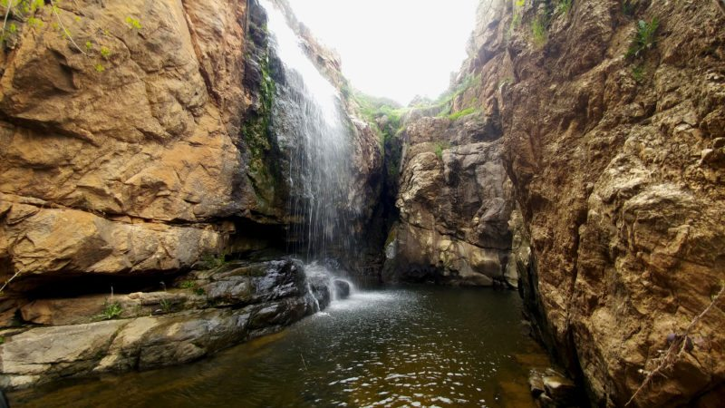 Foto de la Cascada de la Pila en Almaraz de Duero