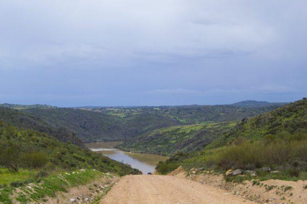 Vistas del camino a la Cascada de las Pilas