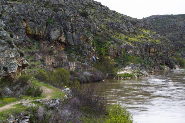 Ruinas mineras Almaraz de Duero