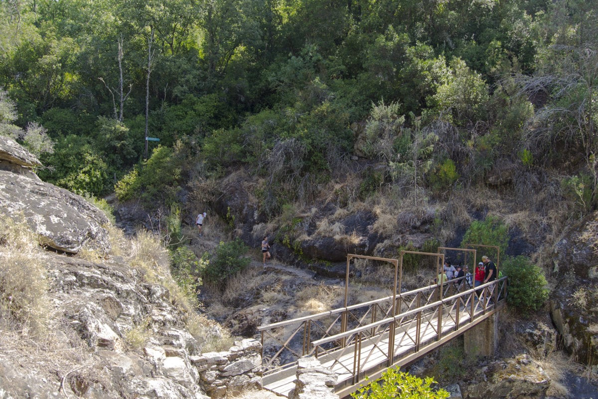 Puente del Pozo Quirol en Arenas de San Pedro, Ruta Senda de los Pescadores