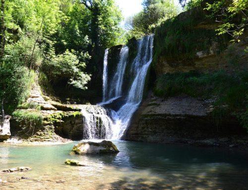 Cascada de Peñaladros (Burgos) y cascada de la Teja (Álava)