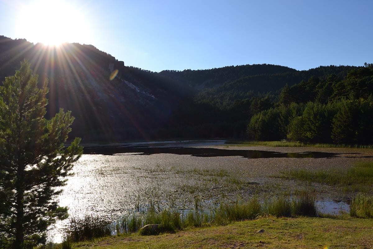 Laguna de La Cascada en Las Lagunas de Neila